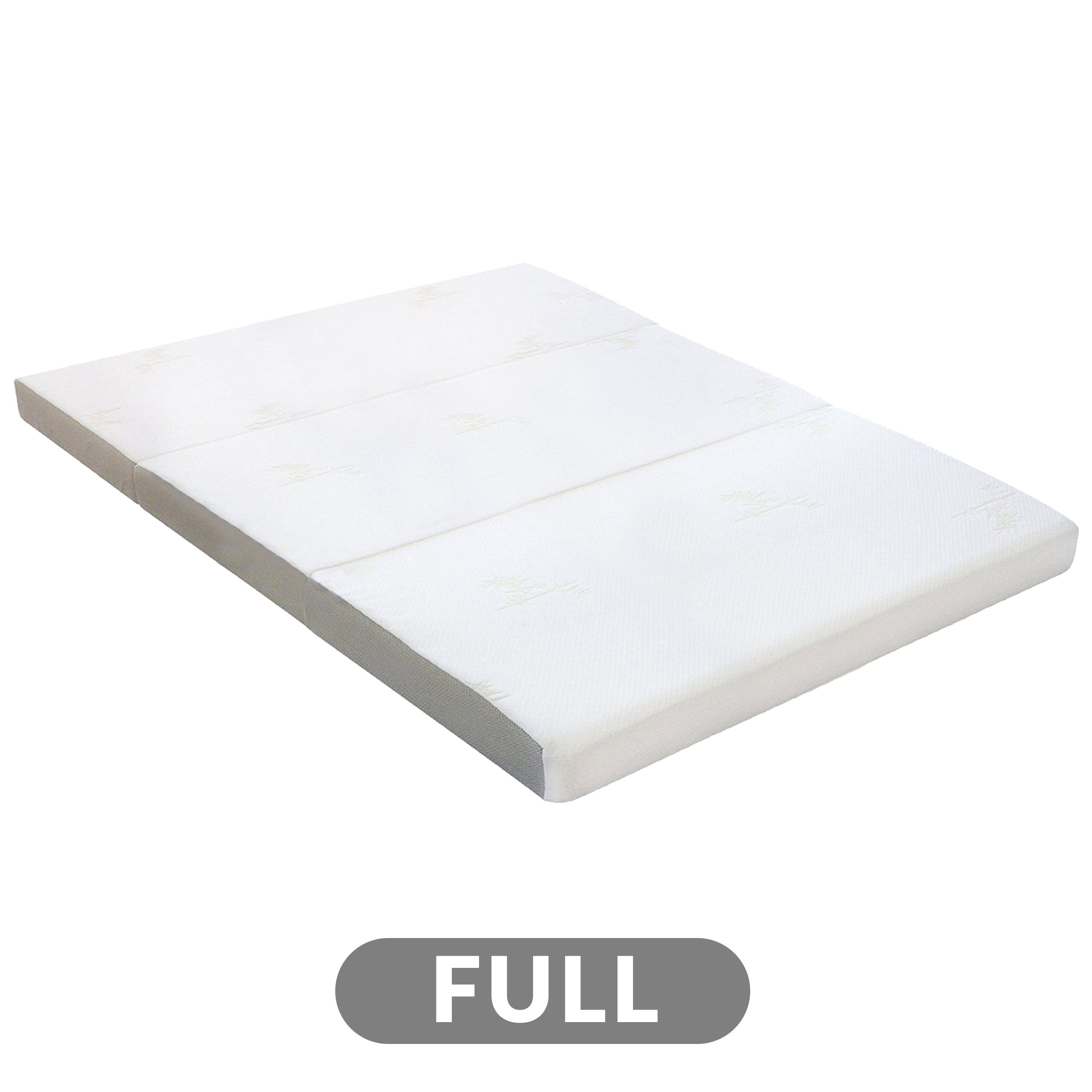 Picture of: 4 Tri Fold Foam Mattress With Cover Full Milliard Bedding The Ultimate Sleep Experience