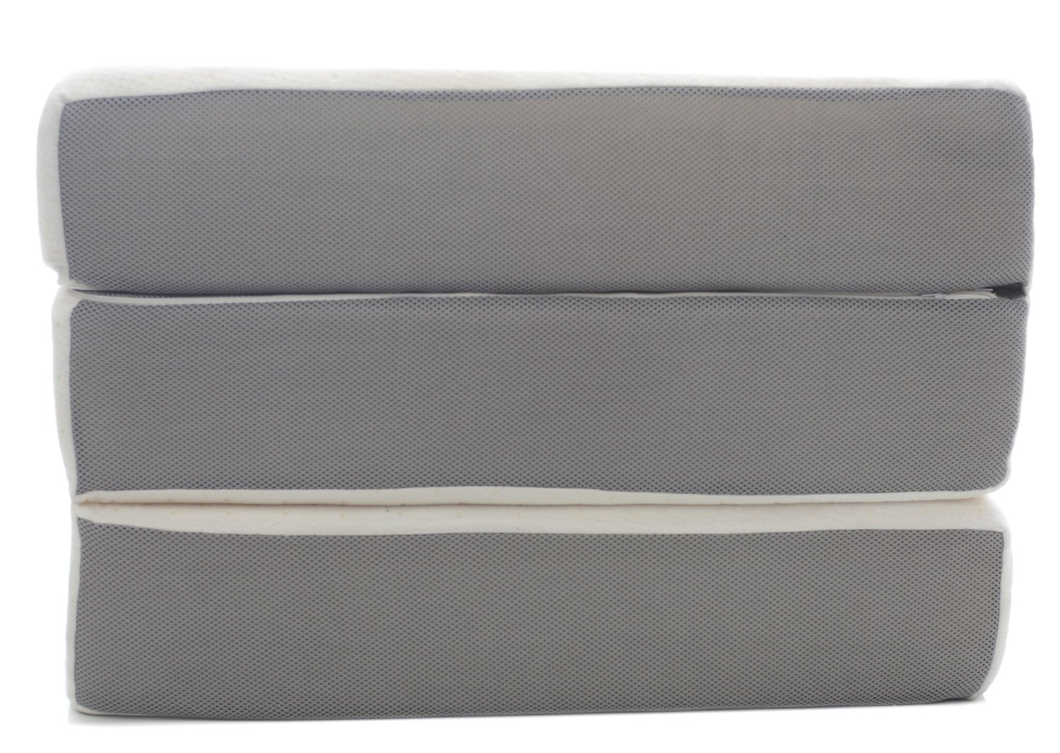 Foldable futon mattress singapore for Tri fold futon mattress cover
