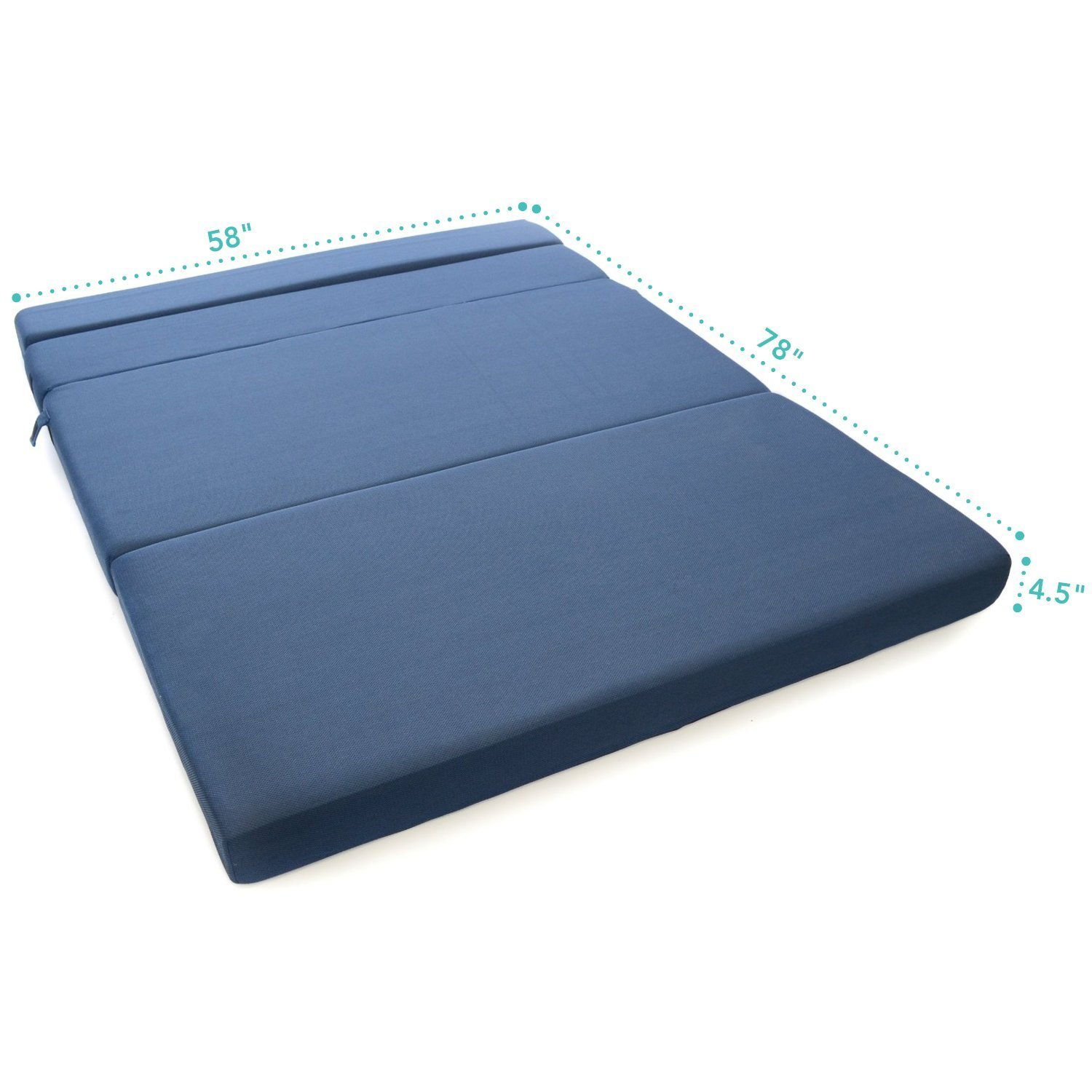 Tri fold foam folding mattress and sofa bed queen milliard bedding the ultimate sleep
