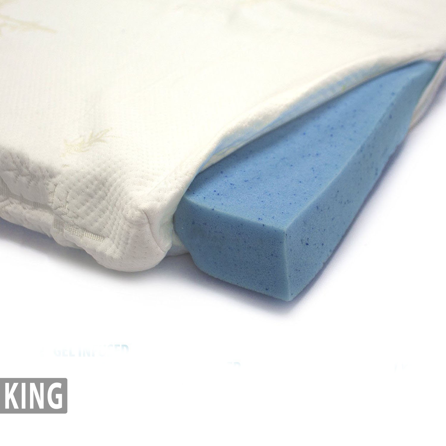 Gel Infused Memory Foam Mattress Topper Bamboo Cover King Milliard Bedding The Ultimate