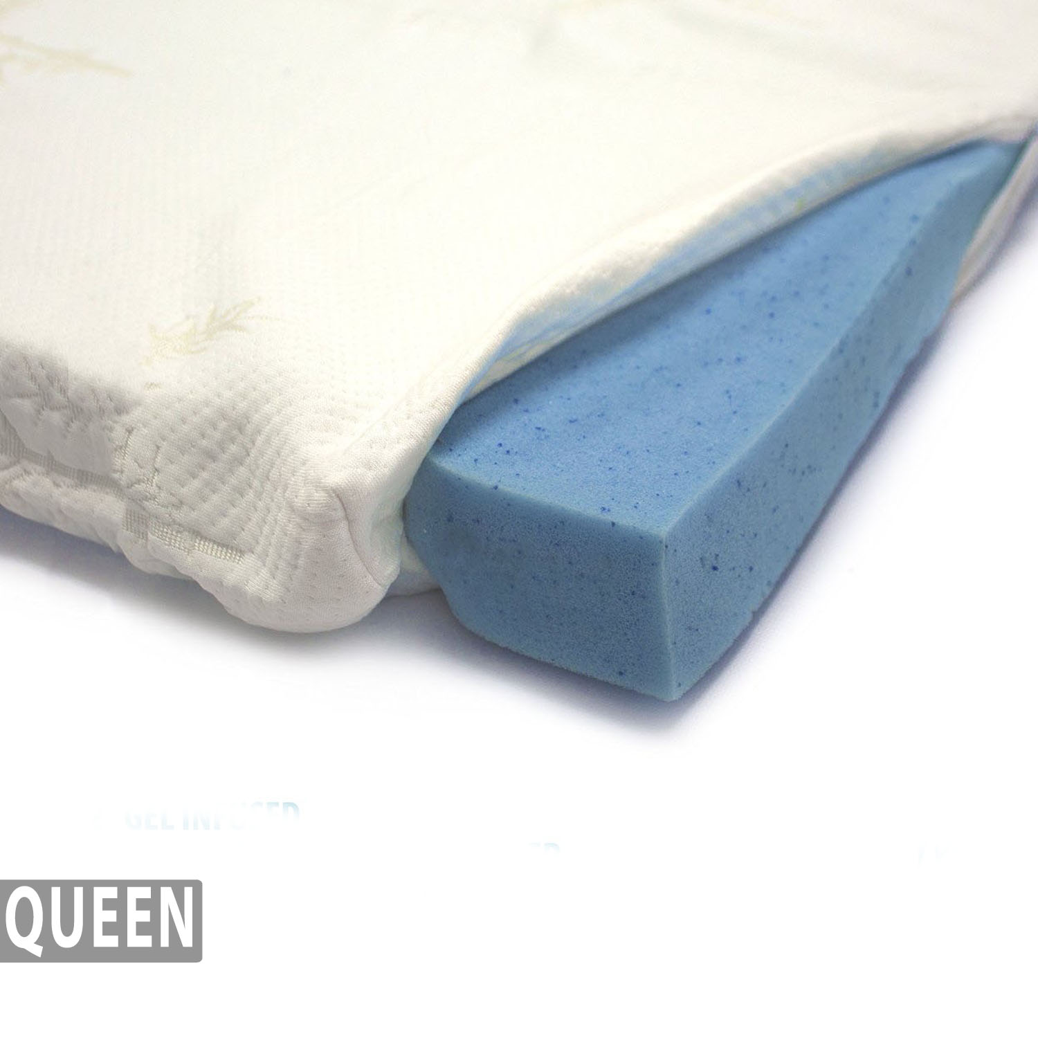 Gel Infused Memory Foam Mattress Topper Bamboo Cover Queen Milliard Bedding The Ultimate