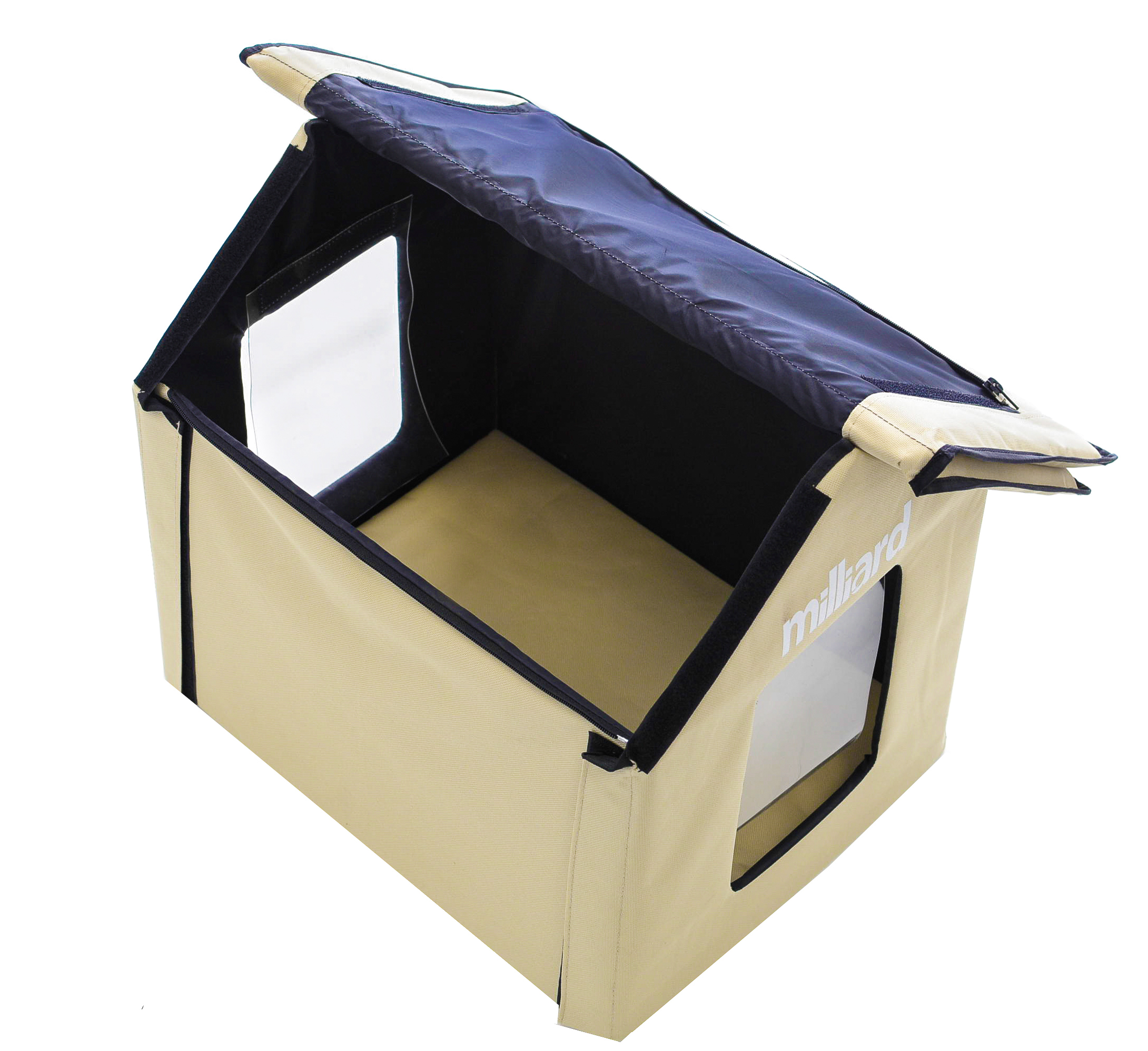 Portable Shelter Dog : Portable outdoor pet house milliard bedding the